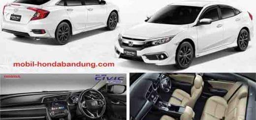 Harga OTR Mobil Honda Civic Turbo Prestige di Bandung Cimahi