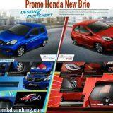Promo Kredit Ringan dan Murah Honda New Brio di Bandung Cimahi Terbaru