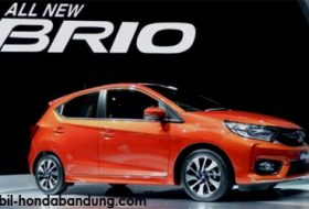 Promo Harga dan Kredit Murah Mobil Honda New Brio di Bandung