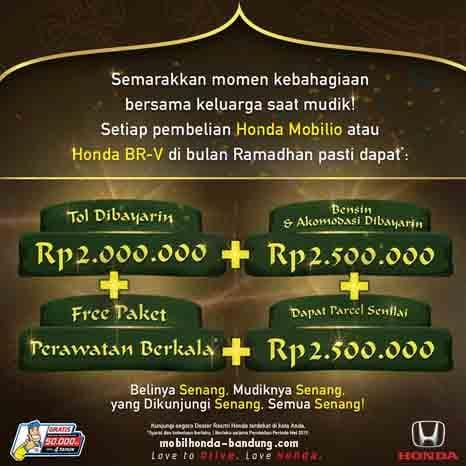 Promo Ramadhan dan Lebaran Idul Fitri Mobil Honda Bandung Cimahi