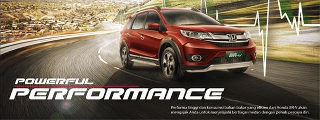 Benner Mobil Honda BRV Bandung