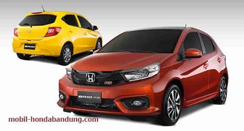 Promo Harga dan Kredit Murah Honda New Brio di Tasikmalaya