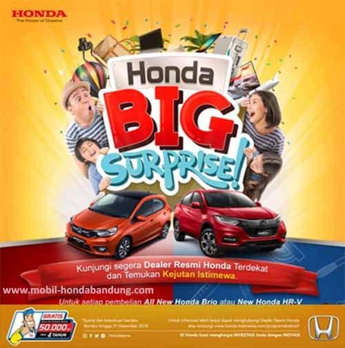 Promo Honda Brio di bandung Cimahi Terbaru
